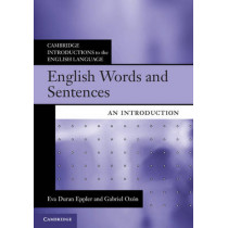 English Words and Sentences: An Introduction by Eva Duran Eppler, 9780521171878