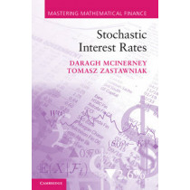 Stochastic Interest Rates by Daragh McInerney, 9780521175692