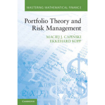 Portfolio Theory and Risk Management by Maciej J. Capinski, 9780521177146