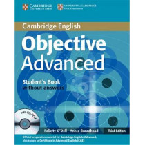 Objective Advanced Student's Book without Answers with CD-ROM by O'Dell, Felicity, 9780521181716