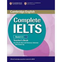 Complete IELTS Bands 4-5 Teacher's Book by Guy Brook-Hart, 9780521185158