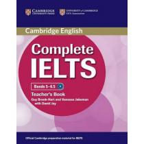 Complete IELTS Bands 5-6.5 Teacher's Book by Guy Brook-Hart, 9780521185165