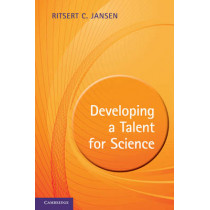 Developing a Talent for Science by Ritsert C. Jansen, 9780521193122