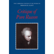 Critique of Pure Reason by Immanuel Kant, 9780521657297
