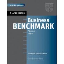 Business Benchmark Advanced Teacher's Resource Book by Guy Brook-Hart, 9780521672962