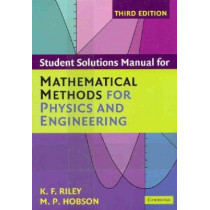 Mathematical Methods for Physics and Engineering Third Edition Paperback Set by Ken F. Riley, 9780521683395