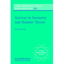 Surveys in Geometry and Number Theory: Reports on Contemporary Russian Mathematics by Nicholas Young, 9780521691826