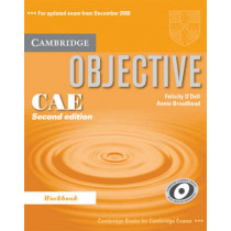 Objective CAE Workbook by O'Dell, Felicity, 9780521700597