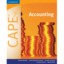 Accounting for CAPE (R) by Harold Randall, 9780521701167