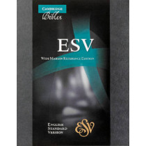 ESV Wide Margin Reference Edition ES741:XM, 9780521708142