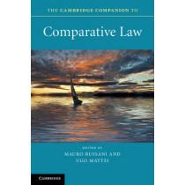 The Cambridge Companion to Comparative Law by Mauro Bussani, 9780521720052