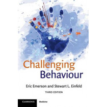 Challenging Behaviour by Eric Emerson, 9780521728935