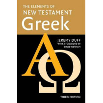 The Elements of New Testament Greek by Jeremy Duff, 9780521755511