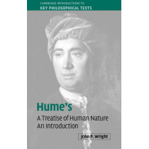 Hume's 'A Treatise of Human Nature': An Introduction by John P. Wright, 9780521833769