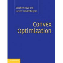 Convex Optimization by Stephen Boyd, 9780521833783