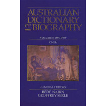Australian Dictionary of Biography V8 by Bede Nairn, 9780522842197
