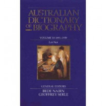 Australian Dictionary of Biography V10 by Bede Nairn, 9780522843279