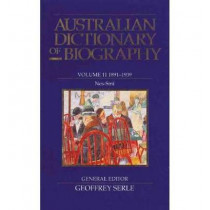 Australian Dictionary of Biography V11 by Geoffrey Serle, 9780522843804