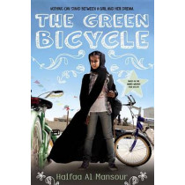 The Green Bicycle by Haifaa Al Mansour, 9780525428060