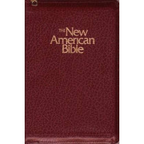 New American Bible Burg Zipper 2405zbg by Confraternity of Christian Doctrine, 9780529061904
