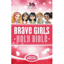 ICB, Tommy Nelson's, Brave Girls Devotional Bible, Hardcover, Pink, 9780529111029
