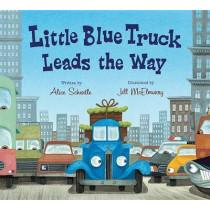 Little Blue Truck Leads the Way Board Book by Alice Schertle, 9780544568051