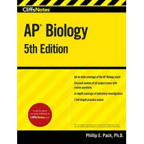 Cliffsnotes AP Biology, 5th Edition by Phillip E Pack, 9780544784680