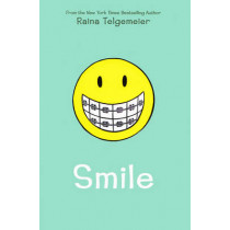 Smile by Raina Telgemeier, 9780545132060