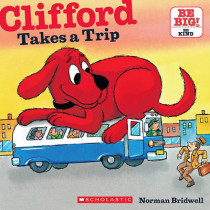 Clifford Takes a Trip by Norman Bridwell, 9780545215916