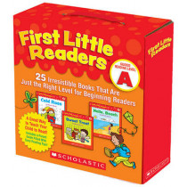First Little Readers: Guided Reading Level A: 25 Irresistible Books That Are Just the Right Level for Beginning Readers by Deborah Schecter, 9780545231497