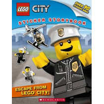 Lego City Sticker Storybook: Escape from Lego City by Wade Wallace, 9780545280952