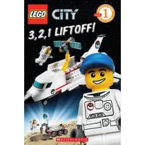 3, 2, 1, Liftoff! (Lego City: Level 1 Reader) by Sonia Sander, 9780545331678