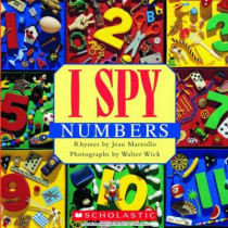 I Spy Numbers by Jean Marzollo, 9780545415859