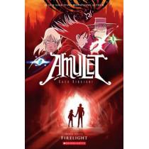 Amulet #7: Firelight by Kazu Kibuishi, 9780545433167