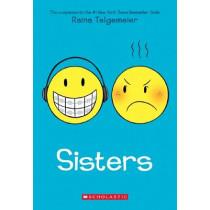 Sisters by Raina Telgemeier, 9780545540605