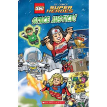 Lego DC Super Heroes: Space Justice! No Level by Trey King, 9780545825566