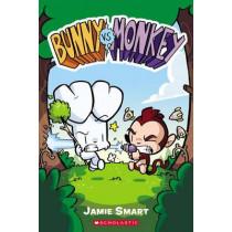 Bunny vs. Monkey by Jamie Smart, 9780545861847