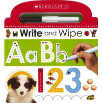 Write and Wipe ABC 123 by Scholastic, 9780545915359