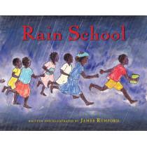 Rain School by James Rumford, 9780547243078