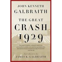 The Great Crash 1929 by John Kenneth Galbraith, 9780547248165
