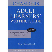 Chambers Adult Learners' Writing Guide by Chambers, 9780550101877