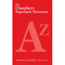 The Chambers Paperback Thesaurus by Chambers, 9780550105516