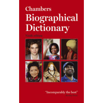 Chambers Biographical Dictionary Paperback by Chambers, 9780550106414
