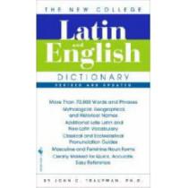 The Bantam New College Latin & English Dictionary by John Traupman, 9780553590128