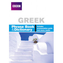 BBC GREEK PHRASEBOOK & DICTIONARY by Phillippa Goodrich, 9780563519225