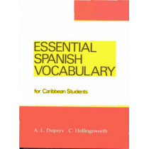 Essential Spanish Vocabulary for Caribbean Students by C. Hollingsworth, 9780582765801