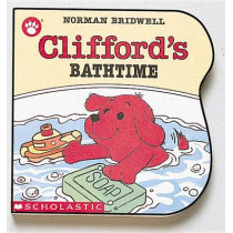 Clifford's Bathtime by Norman Bridwell, 9780590447355