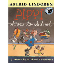 Pippi Goes to School by Astrid Lindgren, 9780613229234