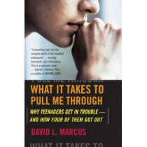 What It Takes to Pull Me Through: Why Teenagers Get in Trouble and How Four of Them Got Out by David L Marcus, 9780618772025