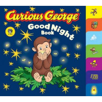 Curious George Good Night Book by H.A. Rey, 9780618777112